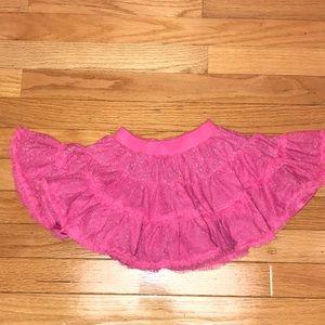 Old Navy Twirl Skirt Tutu Pink Sparkle Princess